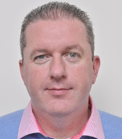 This image shows Stephen Doyle for Contract Logistics